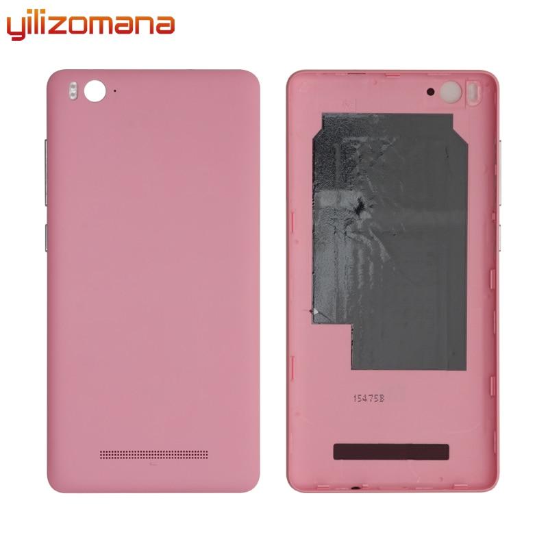 YILIZOMANA Original Replacement Battery Back Cover For Xiaomi Mi 4C Mi4C M4C Phone Rear Door Housings Hard Case Free Tools enlarge