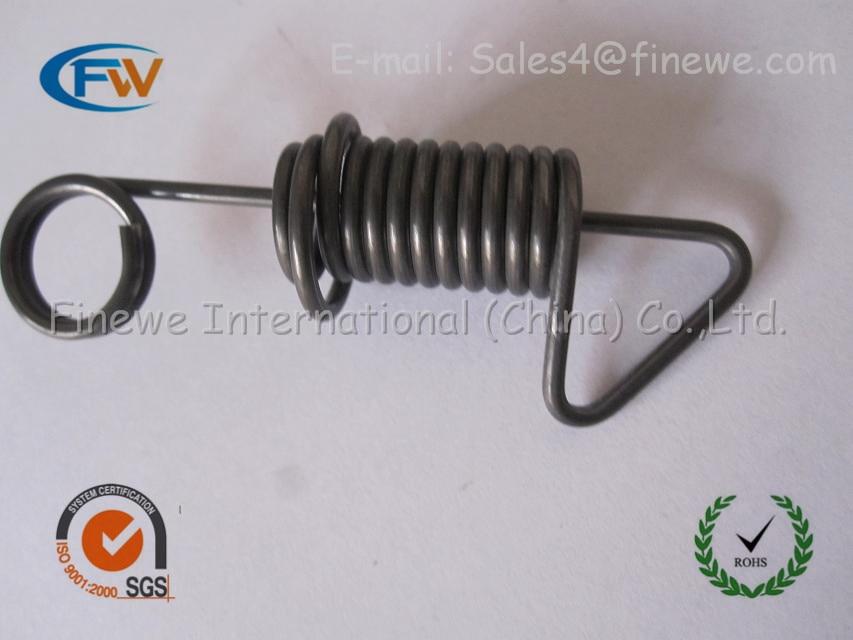 Fabricación personalizada multifunción molde torsión espiral puerta de garaje muelles de torsión, extensión puerta de garaje muelles de torsión