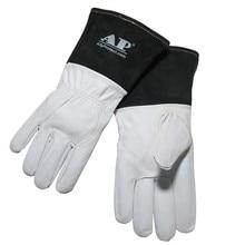 "TIG Welding Gloves Soft Sensitive 30cm(12"") Goatskin Gloves Cowhide Cuff CE Certificated High Quality Welding Gloves"