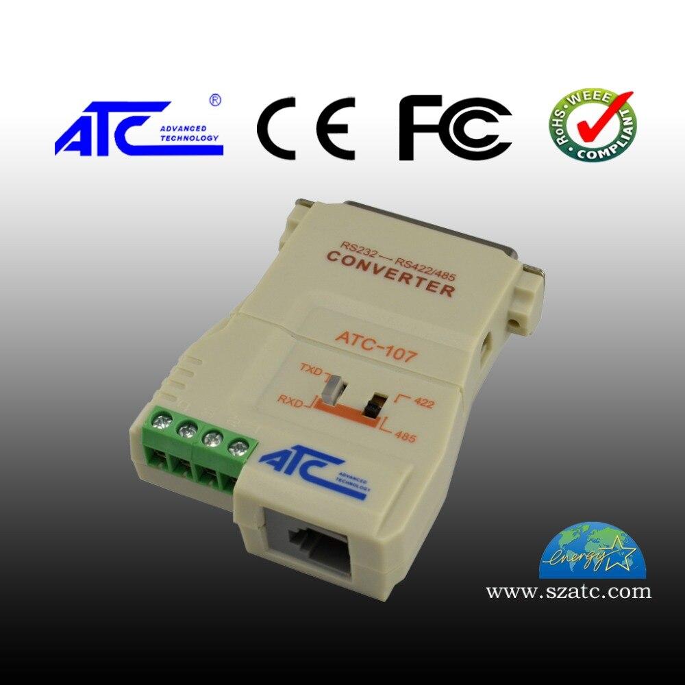 232 إلى 485/422 ثنائية الاتجاه واجهة تحويل العزلة البصرية الفرقة امدادات الطاقة ATC-107