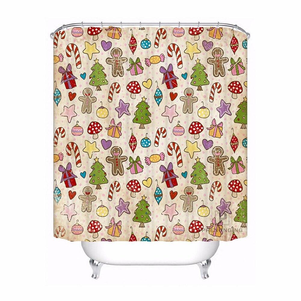Cortina de baño para baño personalizada Caso Chevron Texaco conversor decoración del hogar Cortina de ducha impermeable tela con ganchos #180417-01-17