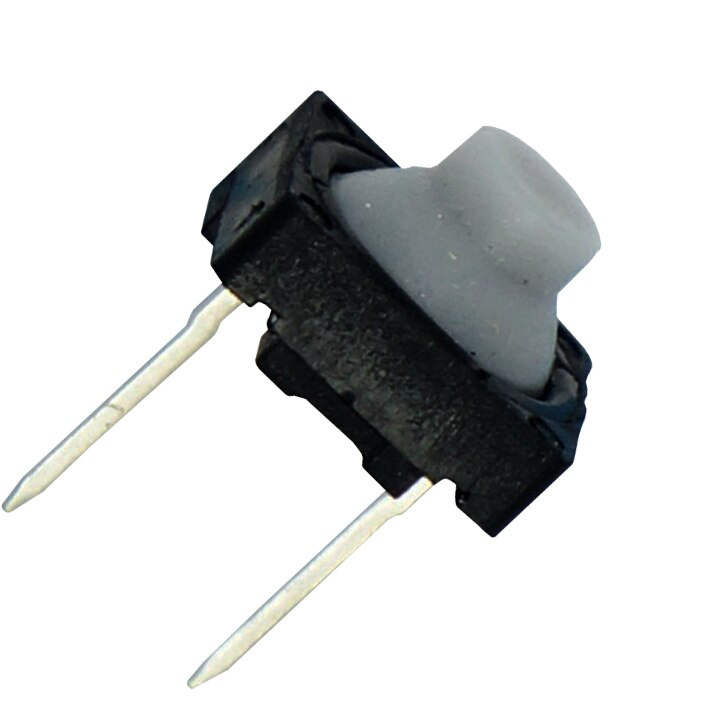 Interruptor de goma conductivo, interruptor de botón silencioso de silicona, Interruptor táctil, 8*8 2 P, dos pies (100 piezas)