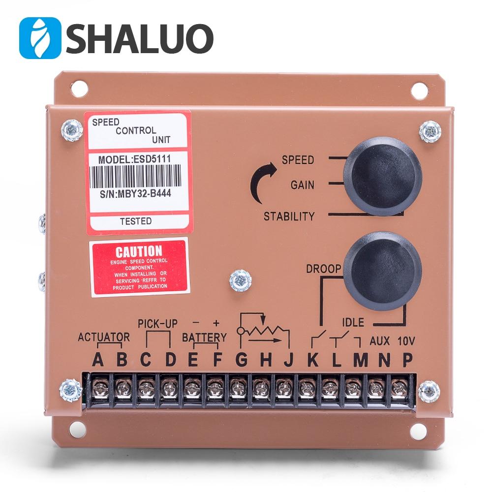 Engine Motor Speed Regulator ESD5111 diesel genset adjustment controller power supply ac generator p