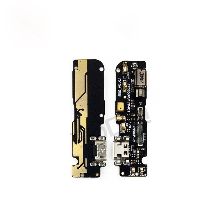 Para Gionee M6/GN8003 USB conector de carga Puerto Flex Cable USB enchufe del cargador de piezas de reparación