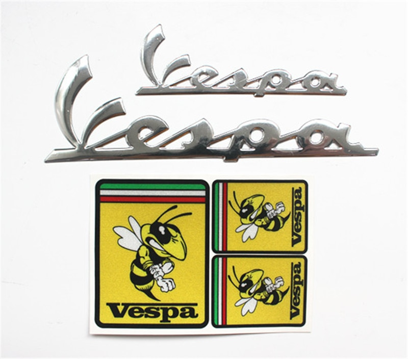 Car Sticker Jdm styling Window Bumper Decal Vinyl Truck Fridge Waterproof  Vespa Bandera Italia moto