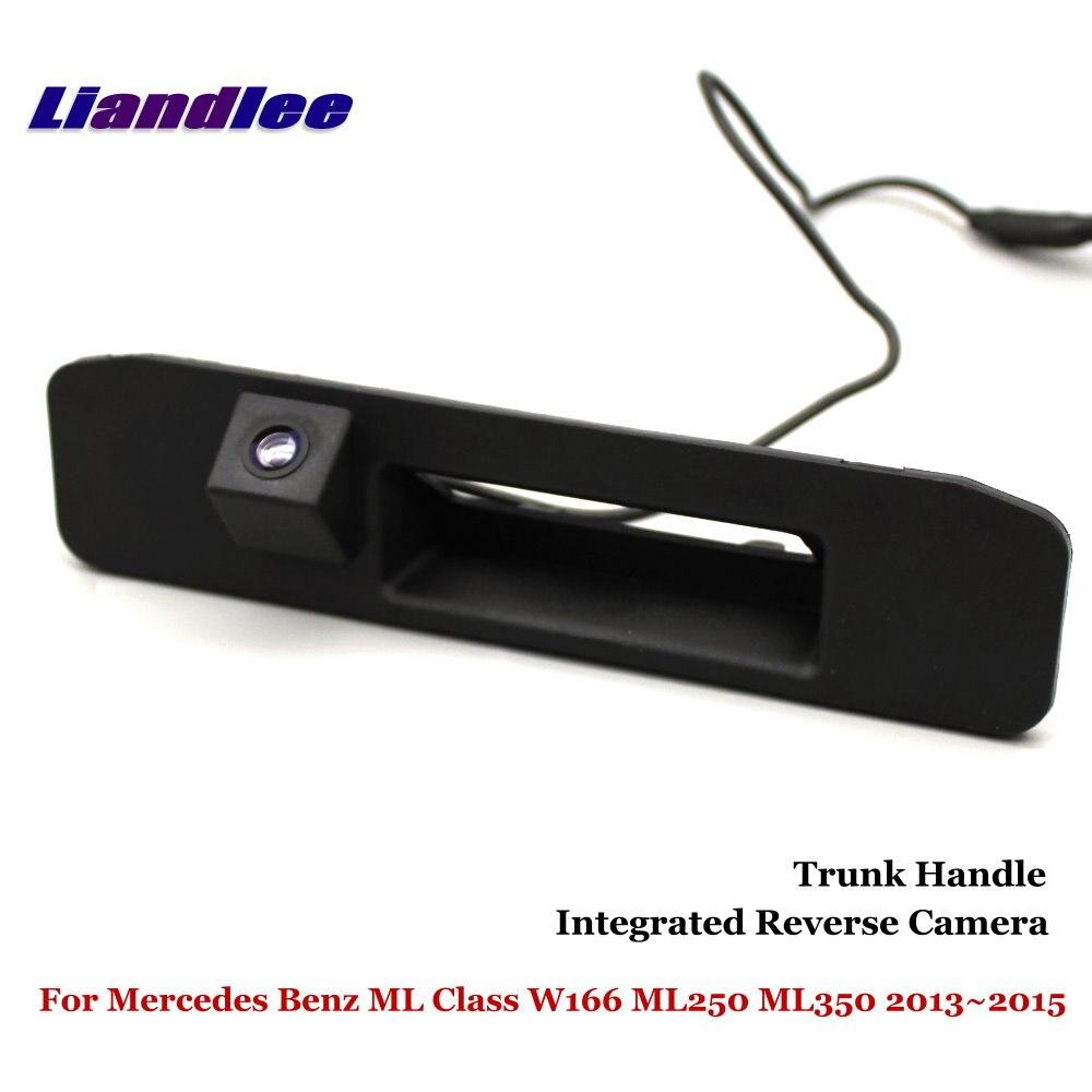 Liandlee Car Rear View Camera For Mercedes Benz ML Class W166 ML250 ML350 2013~2015 Parking Camera / Integrated Trunk Handle