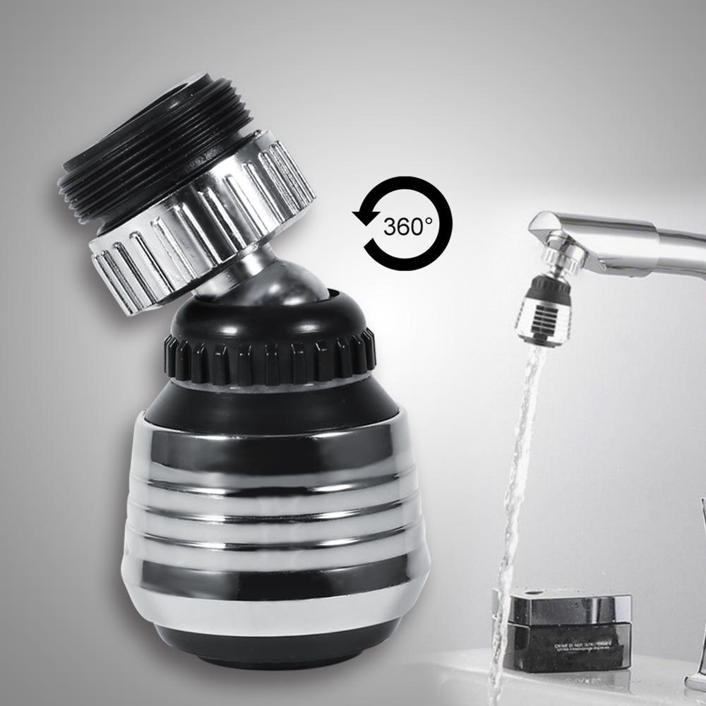 1 Uds. Grifo giratorio de 360 grados, boquilla para grifo aireador de cocina, cabezal rociador, grifos de ahorro de agua, aplicaciones torneira para Cocina