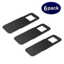 Tongdaytech 6 упаковок, чехол для веб-камеры, пластиковый защитный чехол для камеры для IPhone, ПК, ноутбуков, ультра тонкие линзы, наклейка на конфиденциальность