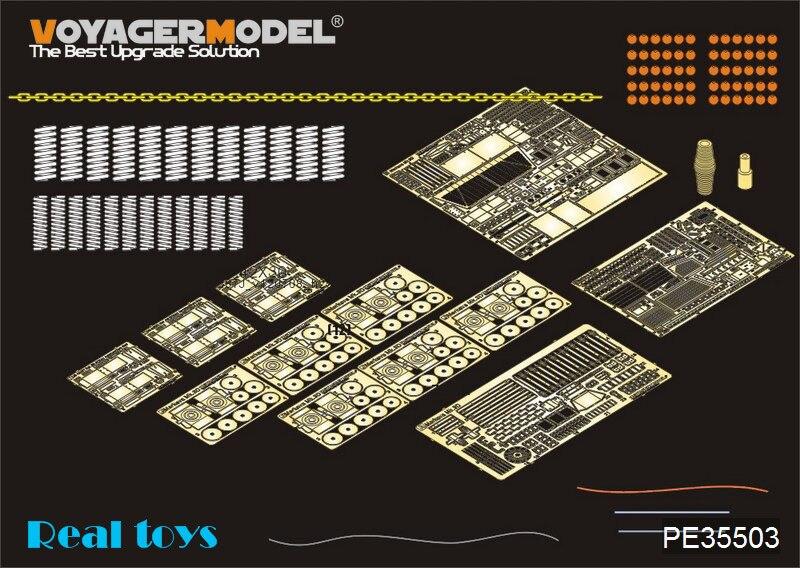 Juego de detalles de la serie vison PE35503 1/35 IDF Merkava Mk.3D MBT para Meng, modelo TS-001