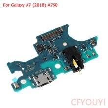 Remplacement Original de câble flexible de Port de Dock de chargeur dusb de câble de charge pour Samsung Galaxy A7 (2018) A750