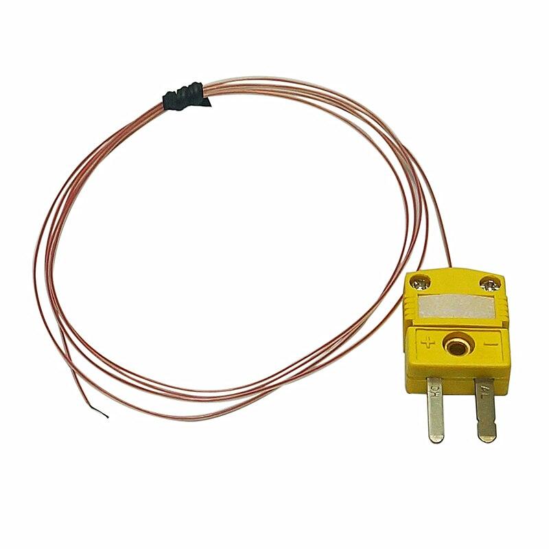 2 pçs/lote Omega Termopar Tipo K Fio do sensor de temperatura para BGA retrabalho máquina IR6500