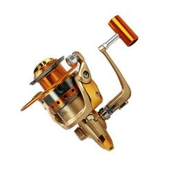 Цельнометаллическая Рыболовная катушка 13 + 1, спиннинговая катушка 1000-9000, бесступенчатая, Бесплатная доставка на дом, все металлические и пр...