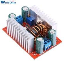 Повышающий преобразователь постоянного тока 400 Вт, 15 А, светодиодный драйвер 8,5-50 В до 10-60 в, Повышающий Модуль зарядного устройства