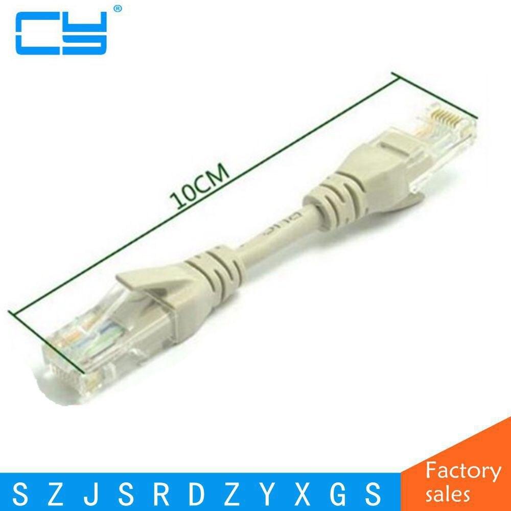 CAT5 CAT5e UTP Ethernet Netzwerk Kabel Stecker auf Ethernet-stecker RJ45 Patch LAN Kurzen Erweiterte linie 10 cm/0,1 mt