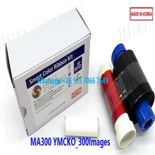 5Pieces Compatible Magicard Ribbon MA300 YMCKO 300 Images Made in South Korea Magicard Enduro Printer