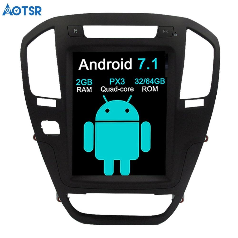 Aotsr Android 7.1 Car GPS Navigation car For Opel Insignia Vauxhall Holden CD300 CD400 Stereo Headunit Sat Nav multimedia no DVD