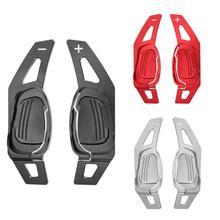 1 par de palas de cambio de extensión del volante del coche para Audi A5 S3 S5 S6 SQ5 RS3 dirección práctica del coche rueda de paleta