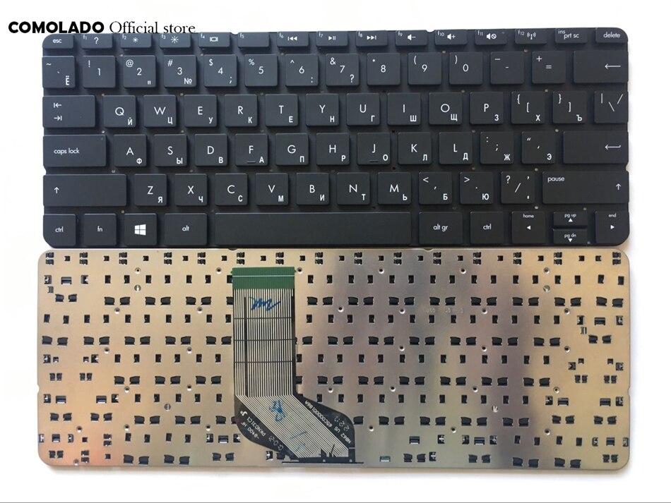 Русская клавиатура для HP ENVY x2, черная Win8, Русская раскладка клавиатуры