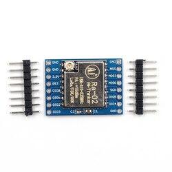 Elecrow 2 pçs/lote SX1278 LoRa Módulo 433M KM Ra-02 Ai-Pensador 10 Tomada de Transmissão Spread Spectrum para DIY Casa Inteligente Sem Fio