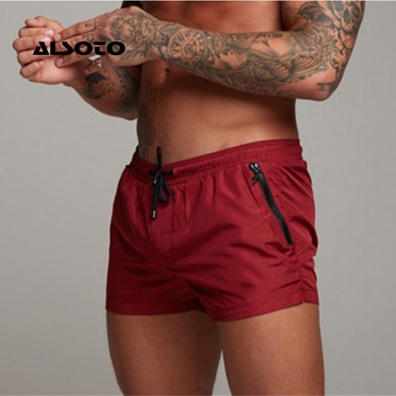 2020 New Mens Swimsuit Sexy Swimwear Men Swimming Shorts Men Briefs Beach Shorts Sports Suits Surf B