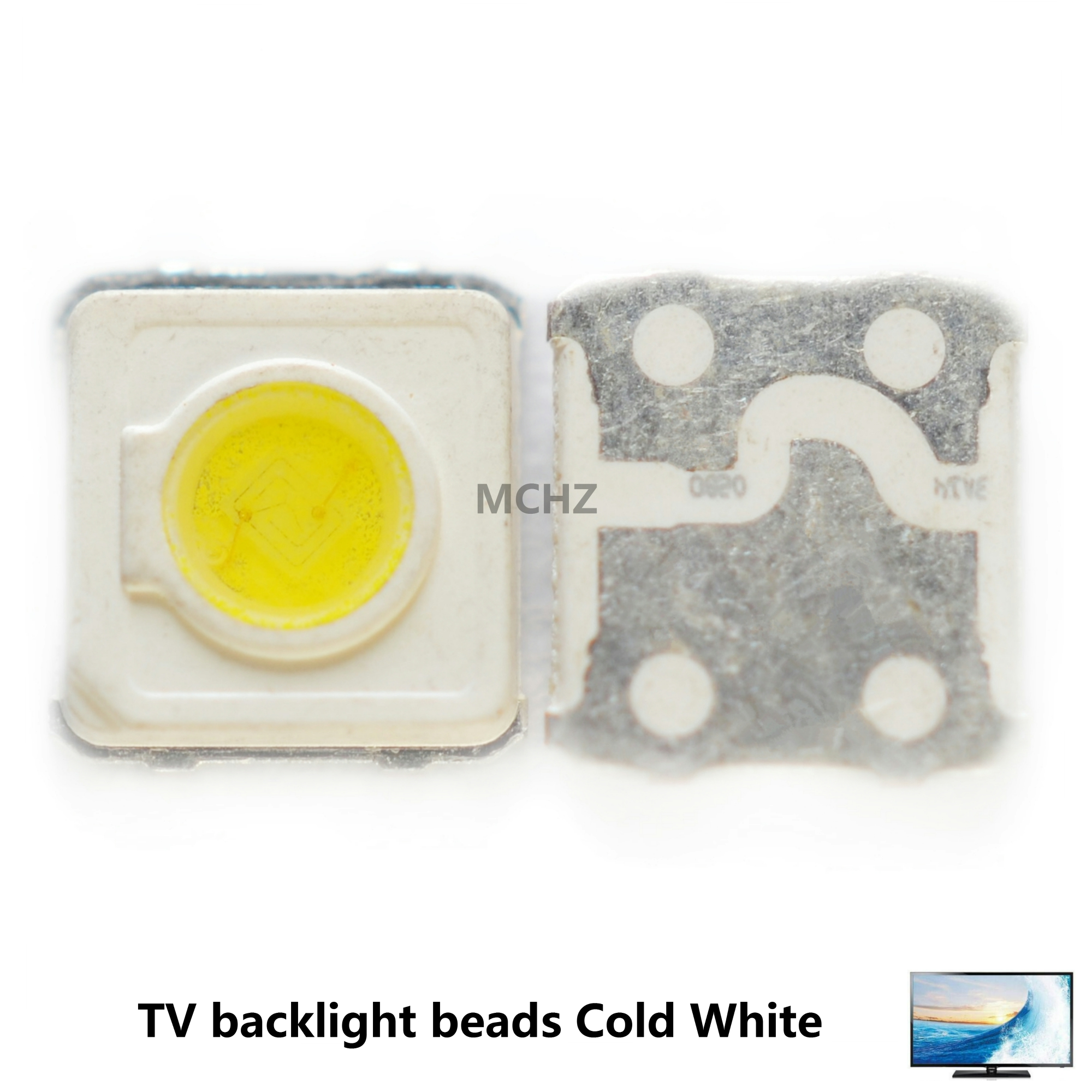 AliExpress - Wholesale 200PCS Samsung LED TV Backlight SMD 1W 3535 3537 Cool White 3V 300ma For Samsung TV Repair