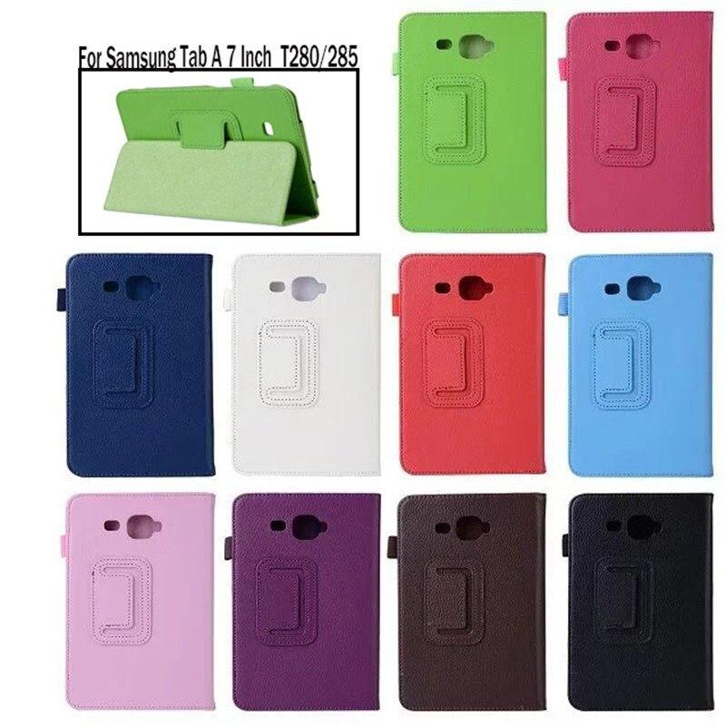 "Новый чехол для планшета Samsung Galaxy Tab A a6 7,0 ""T280 T285 SM-T280 SM-T285 смарт-чехол для планшета откидная подставка защитный чехол"