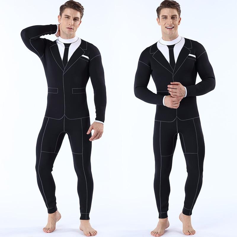 3mm roupas de mergulho conjoined à prova de frio quente roupas de mergulho roupas de mergulho individualizadas roupas de mergulho ocidentais masculinas