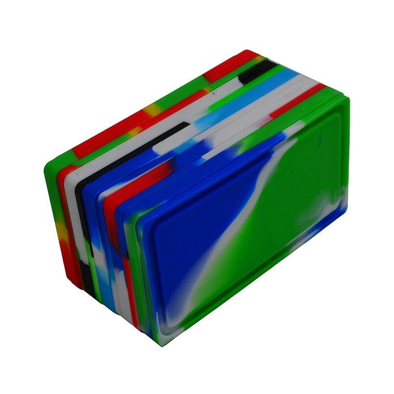5 قطعة Bho متعددة سيليكون الشمع زميله الحاويات ل البوتان النفط/التركيز الشمع-محفظة غير عصا Dab سيليكون بقعة النفط جرة waxmate