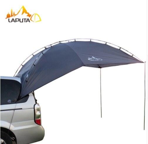 Toldo de toldo grande para tienda de campaña al aire libre refugio solar para coche de 3-4 personas de alta calidad toldo parasol de pérgola para tienda cobertizo de auto-conducción