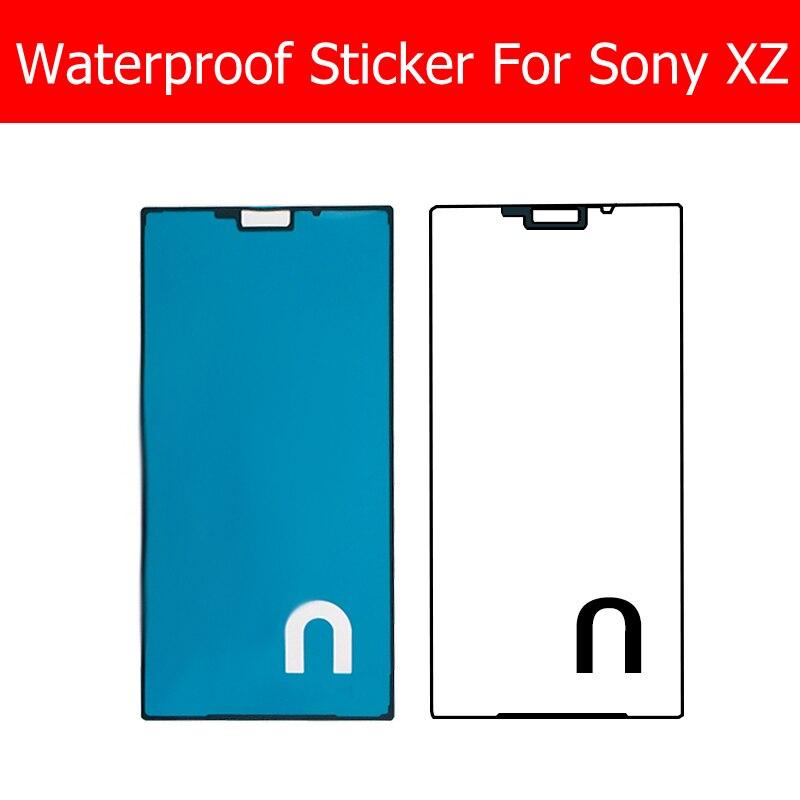 Pegamento adhesivo impermeable para pantalla táctil LCD, nueva y genuina, para Sony Xperia XZ F8332 F8331, reemplazo de pegatina a prueba de agua