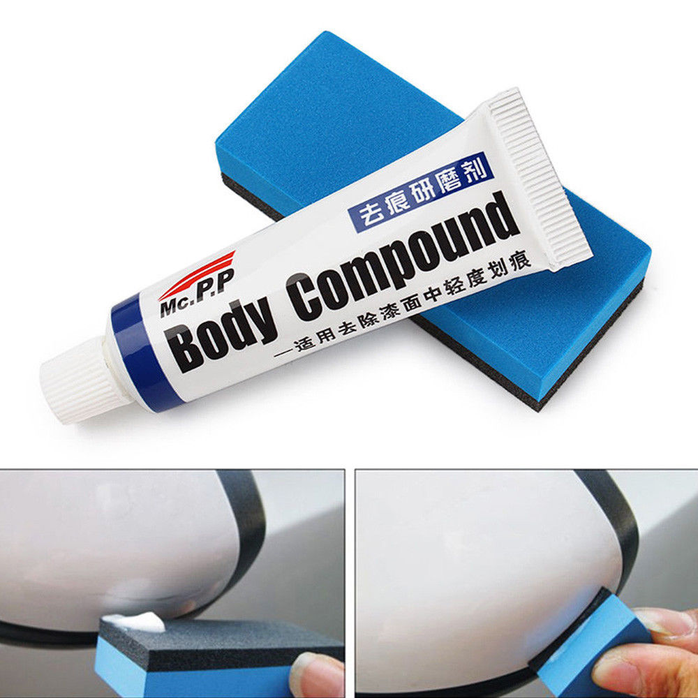 Kits de reparación de rayaduras de coche compuesto de carrocería MC308 pasta de pulido conjunto de cuidado de pintura accesorios de coche Fix it cera de coche