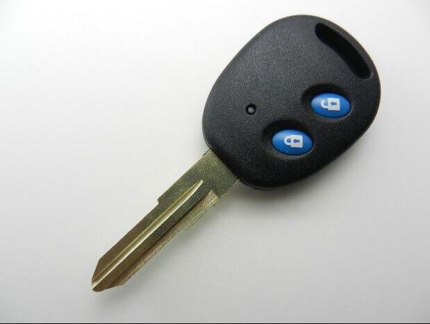 2 botones de reemplazo de la carcasa de la llave remota para Chevrolet Spark Fob cubierta de la llave 5 unids/lote