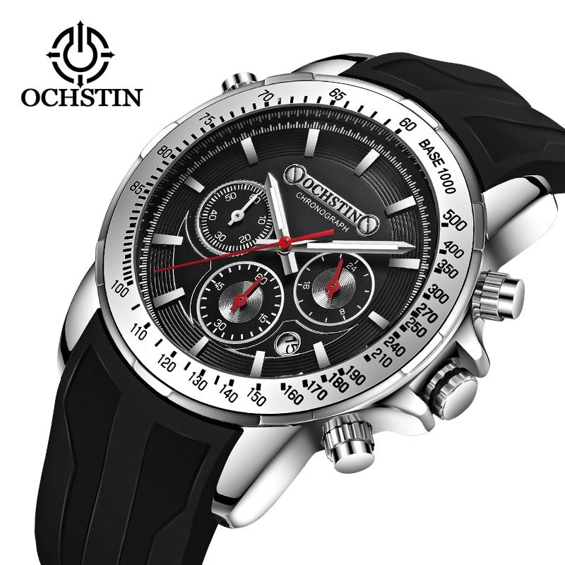 OCHSTIN Luxury Brand pilot Watch Men's Quartz Clock Sports Waterproof Wrist Watches Relogio Masculino orologio militare saat