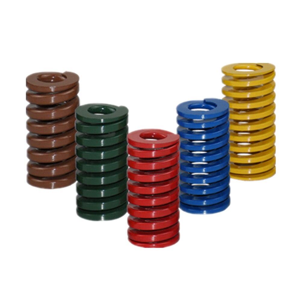 DuoWeiSi 3D طابعة أجزاء 100 قطعة/الوحدة M10 * 35 العفن الربيع 5 ألوان 65MN المواد القطر الخارجي 10 مللي متر طول 35 مللي متر D10 الربيع
