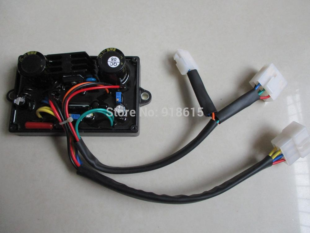 5KW لحام مولد كهربائي جزء AVR ثابت مراقبة الطاقة استقرار التيار المتناوب منظم جهد كهربائي أوتوماتيكي 5000 واط HJ-5K110DH-1 13 سلك