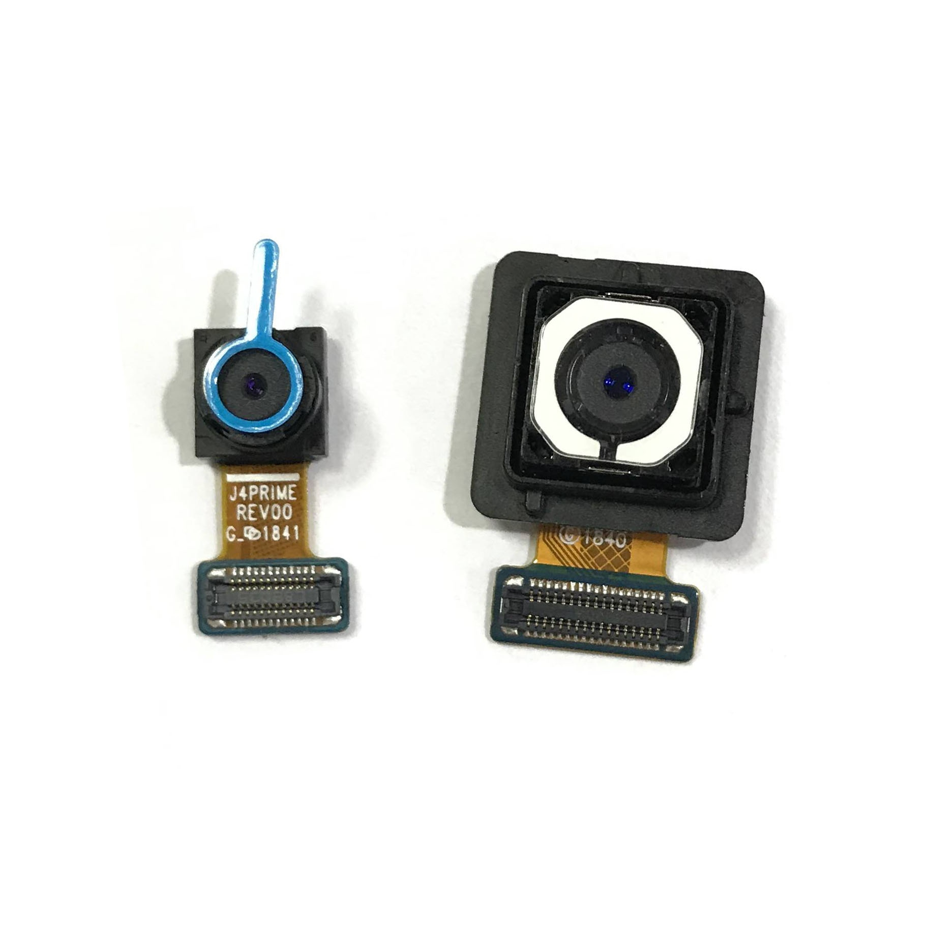 Cámara de Selfie frontal pequeña/cámara principal trasera cámara trasera para Samsung Galaxy J4 core (2018) J410 J410F J410DS