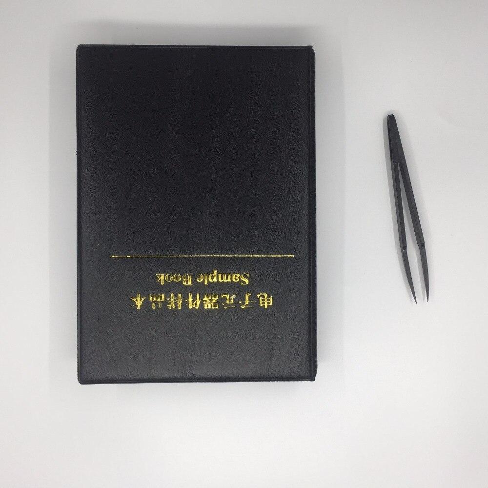 Free Shipping 5400pc 1% 5%  0402 0805 0603 1206 smd resistor kit 0805 resistor assortment sample book for resistor