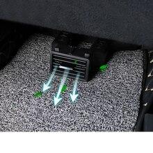 Lsrtw2017 nero abs seggiolino auto condizionatore daria di ventilazione tubo di prolunga per subaru forester 2019 2020 XV