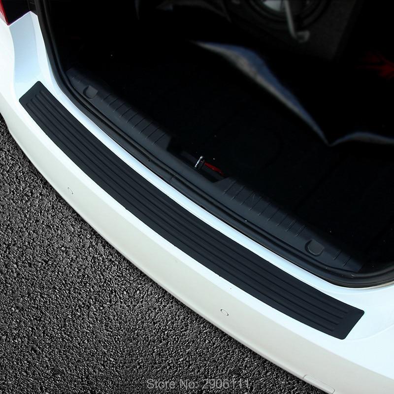 Pegatina de tiras decorativas protectoras de parachoques trasero para Lexus rx350 rx gs is250 gs300 rx300 nx rx330 accesorios de estilo de coche
