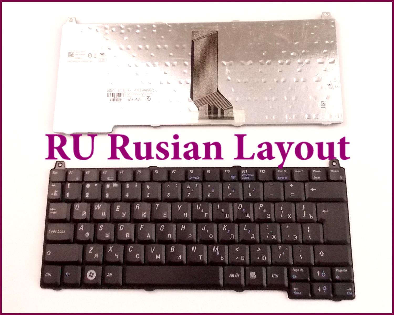 Teclado de diseño ruso para Dell Vostro 1310 2510 1510 1320 1520 PK1303Q0100PP36L 0J483C portátil/Notebook