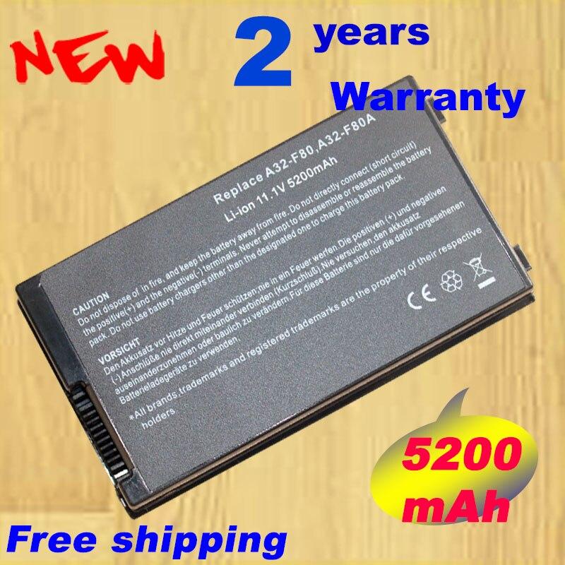 A HSW Nova Bateria A32-F80 asus F80 F80Cr F80s F81 F81E F81Se F83 F83E F83Cr F83S F83Se F83VD F83VF F83V 11.1 V 4400 mAh