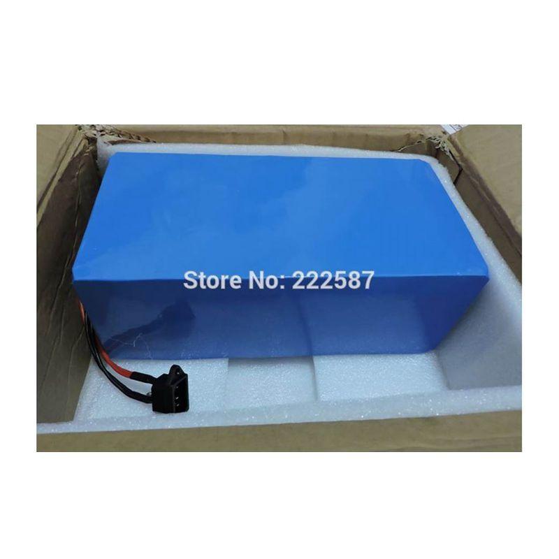 Super Power 7200W, batería de bicicleta eléctrica 72V 40Ah con cargador 100A BMS 5A para móvil Panasonic LG 3,7 V 18650
