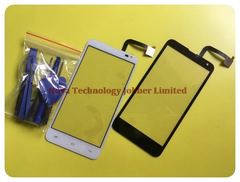 Piezas de repuesto del Sensor Wyieno Iq 4514 para Fly IQ4514 Panel externo del digitalizador de la pantalla táctil (no es pantalla LCD) + seguimiento