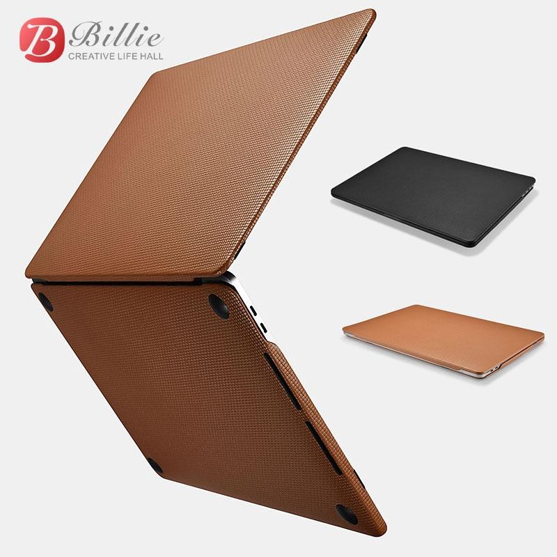 Чехол из натуральной кожи для MacBook Pro 13 дюймов, новинка 2017, Роскошный чехол для ноутбука, сумки и чехлы, защитный чехол