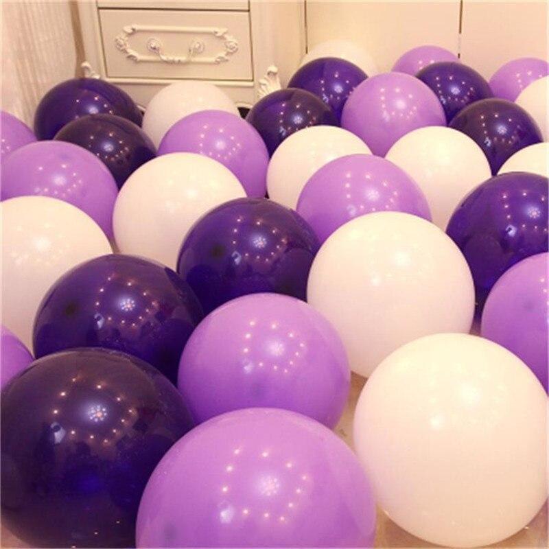 10 шт. 10 дюймов 5 дюймов воздушный шар для макарон на свадьбу с днем рождения украшения для детской баллон выпускные принадлежности фиолетовые латексные шары