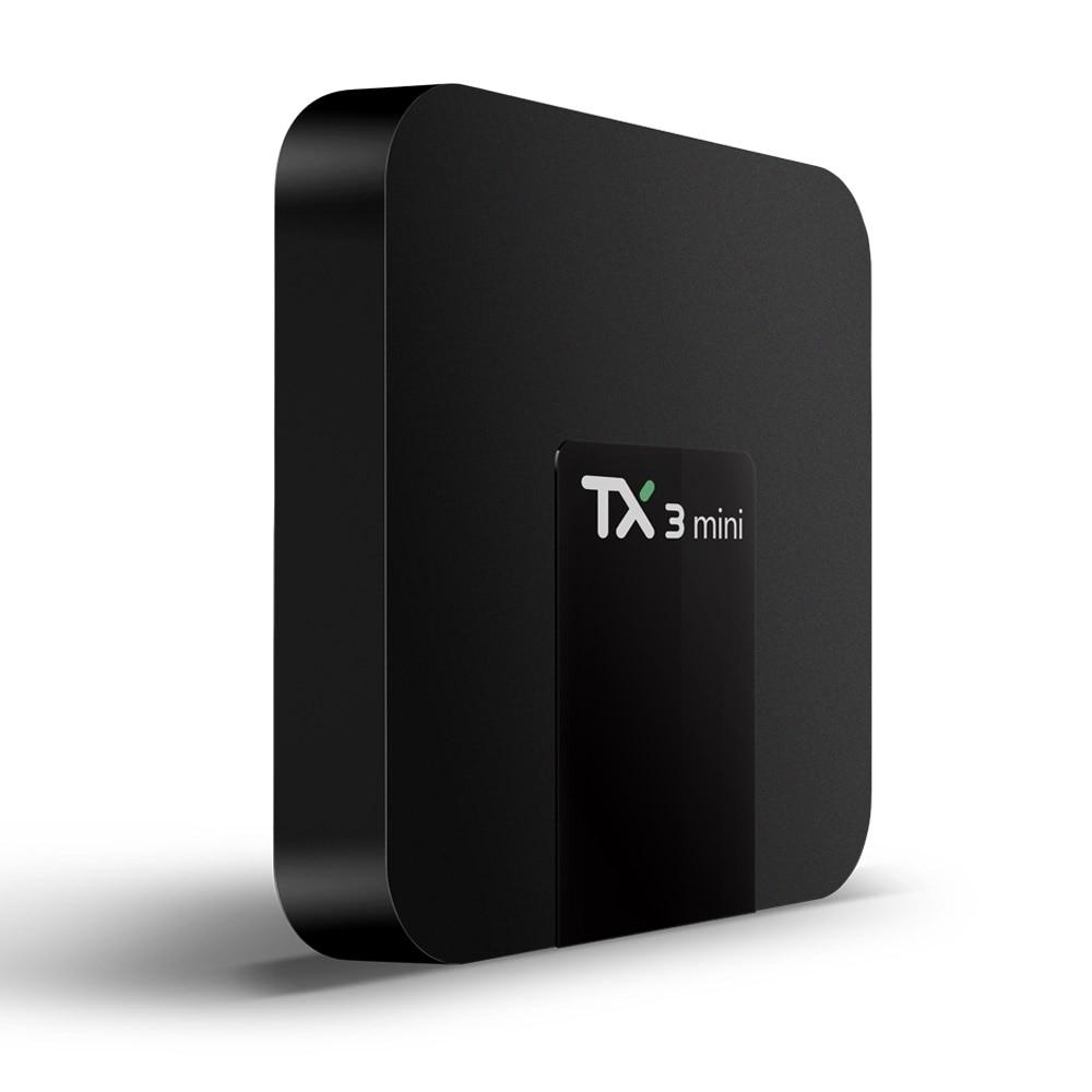 10 Uds./lote envío gratuito con dhl con (TX3 Mini TV Box Android 7,1 S905W 2G/16G (5 uds.) + i8 teclado inalámbrico 2,4G con Touchpad(5 uds.)
