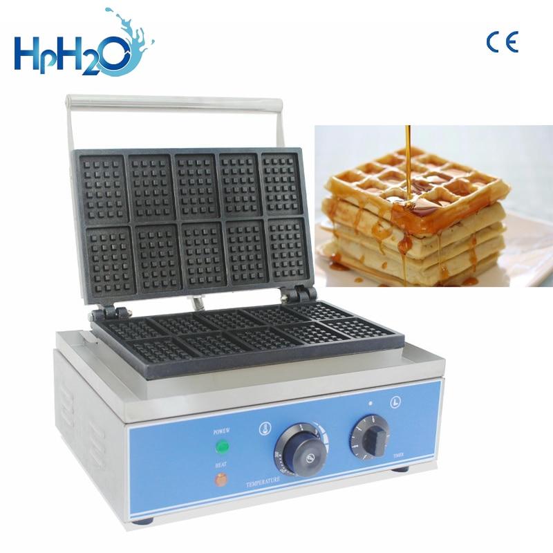 التجارية غير عصا 10 قطعة صانع الهراء الكهربائية/رائجة البيع الهراء بيكر/الجمارك الحديد آلة الهراء السعر