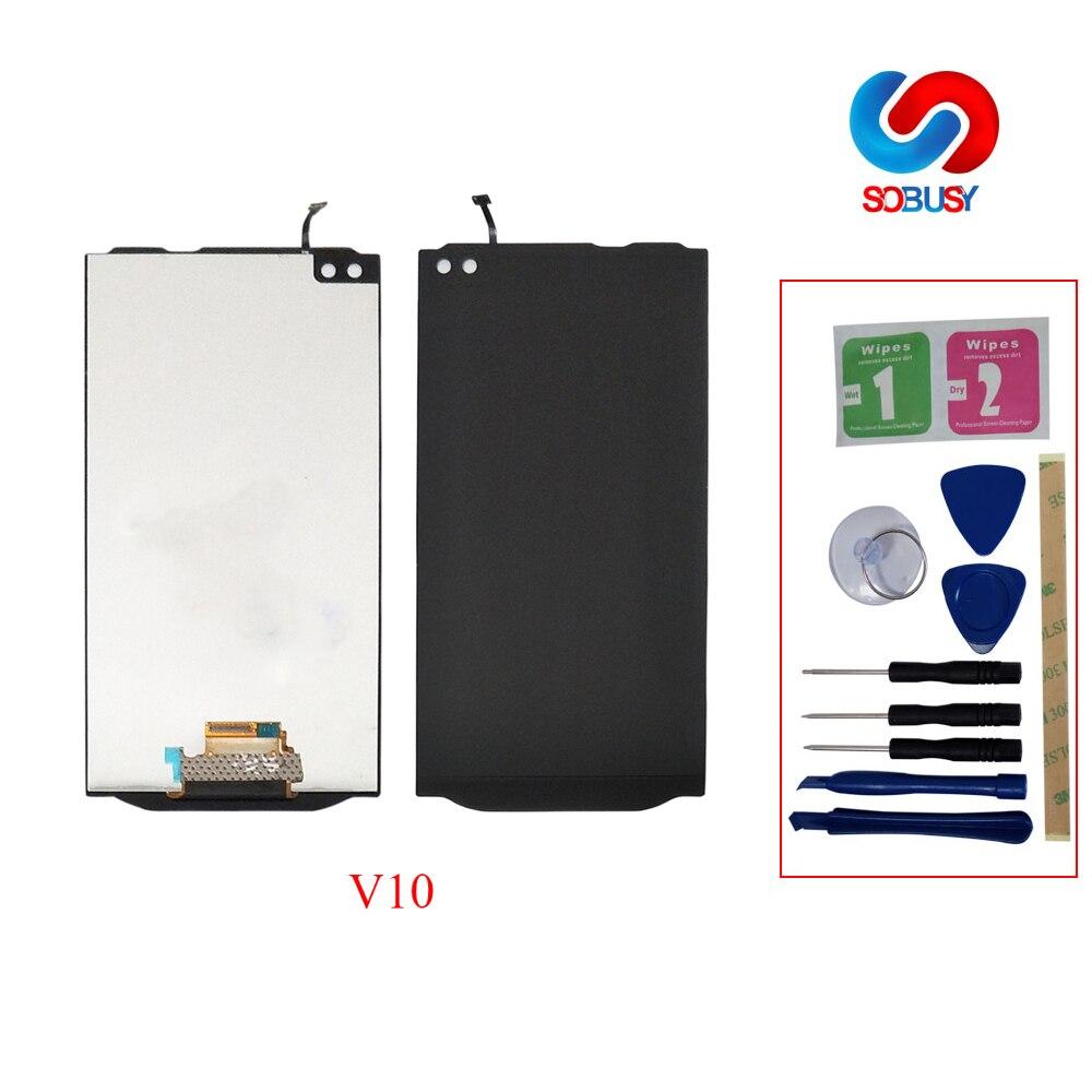"LCD DisplayTela para LG 5,7 ""V10 H960 H968 H900 VS990 MONTAJE DE digitalizador con Pantalla táctil con marco Pantalla reemplazo V10 LCD"