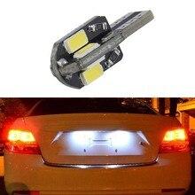 1x super bright License plate Light No Error T10 5730SMD LED For Chevrolet Cruze Camaro Captiva