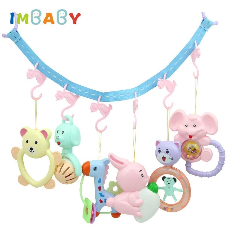 Крючки IMBABY для детской коляски, крючок для детской кроватки, аксессуары для детской коляски